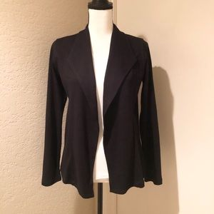 Style & Co Black Cotton Blazer